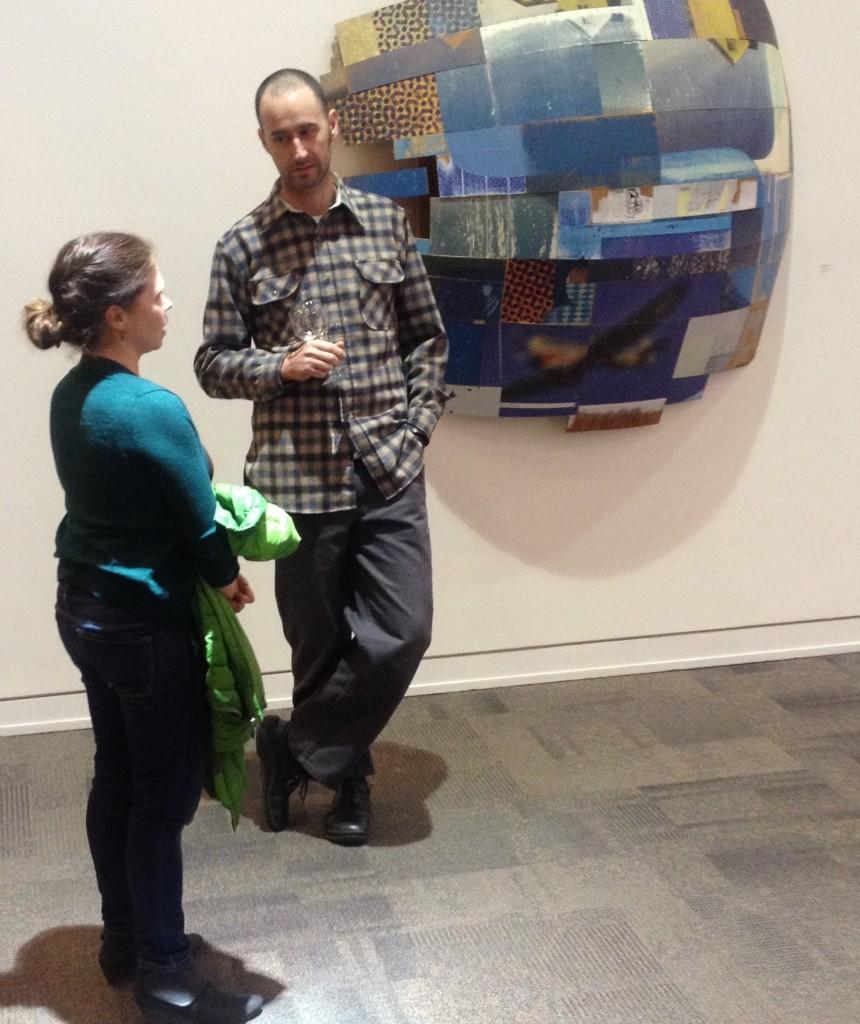 Artists Katie Lewis, Jeff Hantman