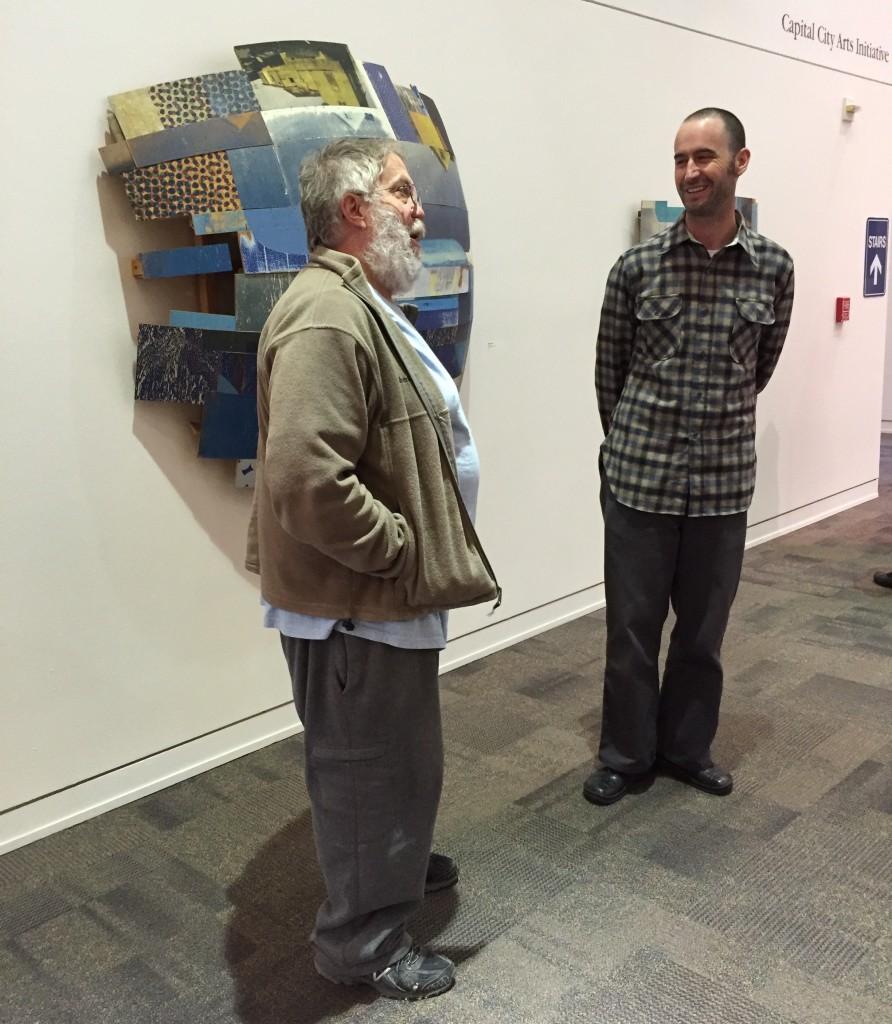 Artists Galen Brown, Jeff Hantman
